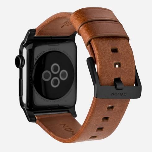 9fc1099d1 Nomad kožený náramok pre Apple Watch 42/44 mm - Modern Brown/Black Hardware