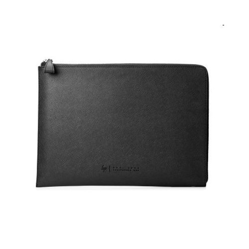 "fb8a68ac8 HP Spectre 13.3"" Split Leather Sleeve (Silver) 