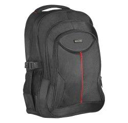 """Batoh na notebook 15,6"""", Carbon, čierny z polyesteru, nepromokavé dno a bočné kapsy, Defender"""