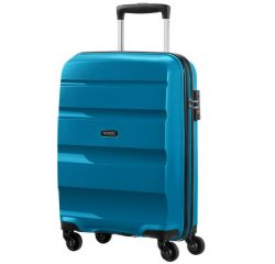 SAMSONITE AMERICAN TOURISTER 85A22001 BONAIR STRICT S 55 4WHEELS LUGGAGE SEAPORT BLUE