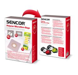 SENCOR SVC 45/52 RD/WH/BK/BL/GR VRECKO MICRO + LEMON