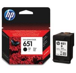 HP 651 ORIGINAL ATRAMENT C2P10AE, BLACK, 600 STRAN