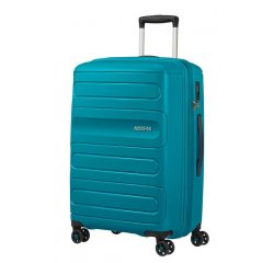 SAMSONITE SPINNER AMERICAN TOURISTER 51G51002 SUNSIDE-68/28.5, TSA, EXP, JUST LUGGAGE, TEAL