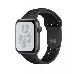APPLE WATCH SERIES 4 NIKE+ GPS 44MM SPACE GREY ALUMINUM CASE, ANTHRACITE/BLACK SPORT BAND MU6L2HC/A vystavený kus