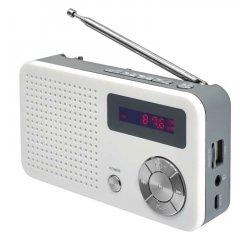 EMOS E0086 RADIO EM 213 USB BIELO SIVA