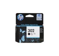 HP 302 ORIGINAL ATRAMENT F6U66AE, BLACK, 190 STRAN