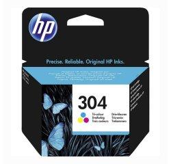HP 304 ORIGINAL ATRAMENT N9K05AE, TRI-COLOR, 100 STRAN