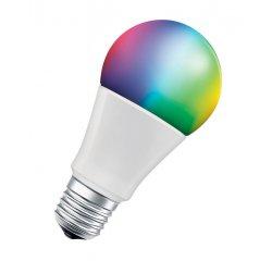 LEDVANCE SMART+ WIFI CL A RGBW 60 YES 9W/ E27, MENITELNE FARBY, STMIEVATELNA