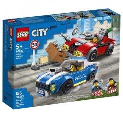 LEGO CITY POLICAJNA NAHANACKA NA DIALNICI /60242/