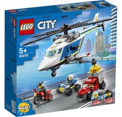 LEGO CITY PRENASLEDOVANIE POLICAJNOU HELIKOPTEROU /60243/