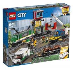 LEGO CITY TRAINS NAKLADNY VLAK /60198/ + internetová televízia SledovanieTV na dva mesiace v hodnote 11,98 €
