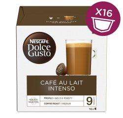 NESCAFE DOLCE GUSTO CAFE AU LAIT INTENSO 16KS VYHRAJTE ZÁSOBU KÁVY NA CELÝ ROK