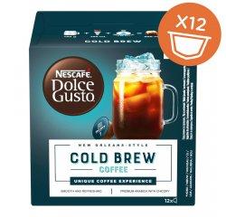 NESCAFE DOLCE GUSTO COLD BREW COFFEE 12KS VYHRAJTE ZÁSOBU KÁVY NA CELÝ ROK