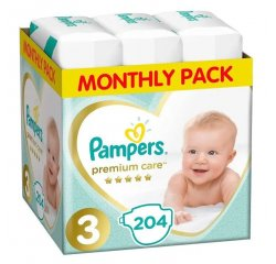 PAMPERS PLIENKY PREMIUM MONTHLY BOX S3 204
