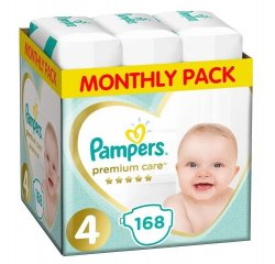 PAMPERS PLIENKY PREMIUM MONTHLY BOX S4 168