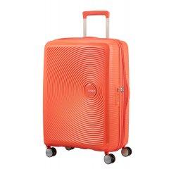 SAMSONITE AMERICAN TOURISTER SPINNER 32G66002 SOUNDBOX -67/24 TSA EXP JUST LUGGAGE, SPICY PEACH