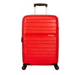 SAMSONITE AMERICAN TOURISTER SPINNER 51G00002 SUNSIDE-68/28,5, EXP, JUST LUGGAGE, SUNSET RED