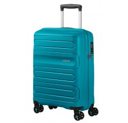 SAMSONITE AMERICAN TOURISTER SPINNER 51G51001 SUNSIDE-55/20 TSA JUST LUGGAGE, TEAL, 51G-51-001