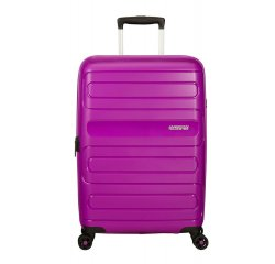 SAMSONITE AMERICAN TOURISTER SPINNER 51G91002 SUNSIDE-68/28,5, EXP, JUST LUGGAGE, ULTRAVIOLET