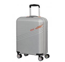 SAMSONITE AMERICAN TOURISTER TRIPLE TRACE SPINNER 55/20 TSA EXP SILVER/ORANGE