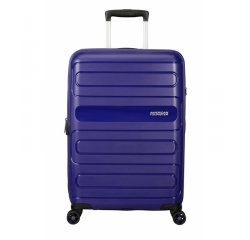 SAMSONITE SPINNER AMERICAN TOURISTER 51G41002 SUNSIDE-68/28.5, EXP, JUST LUGGAGE, NAVY, 51G-41-002