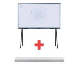 SAMSUNG QE55LS01TBUXXH + HW-S61T/EN + internetová televízia SledovanieTV na dva mesiace v hodnote 11,98 €