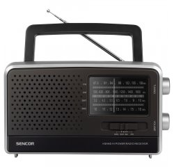 SENCOR SRD 2806 FM/AM/SW1/SW2