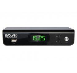 EVOLVEO Omega II, WiFi HD DVB-T2 H.265/HEVC rekordér, HDMI, SCART, USB + internetová televízia SledovanieTV na dva mesiace v hodnote 11,98 €