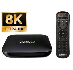 EVOLVEO MultiMedia Box C4, 8K Ultra HD multimediální centrum + internetová televízia SledovanieTV na dva mesiace v hodnote 11,98 €