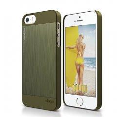 Elago kryt Outfit Matrix pre iPhone SE + fólia - Camo Green d4f456c672b